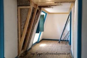Reabilitação de mansardas e cobertura